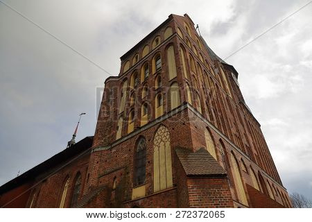 Cathedral In Kaliningrad, Russia