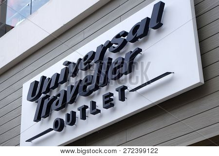 Genting Highlands, Malaysia- Dec 03, 2018: Universal Traveller Store In Genting Highlands, Malaysia.