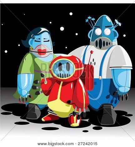 Family of Moon robots.