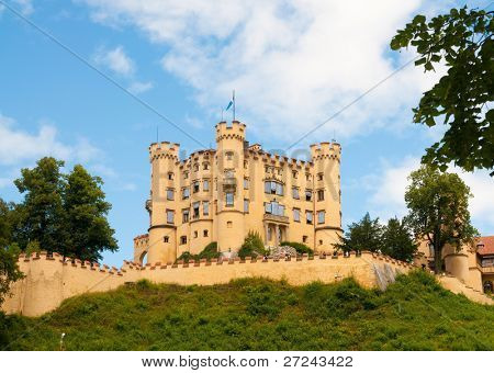 Neuschwangau Castle in Germany poster