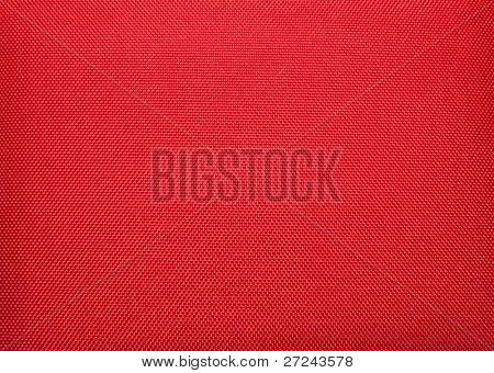 Red fabric as a background