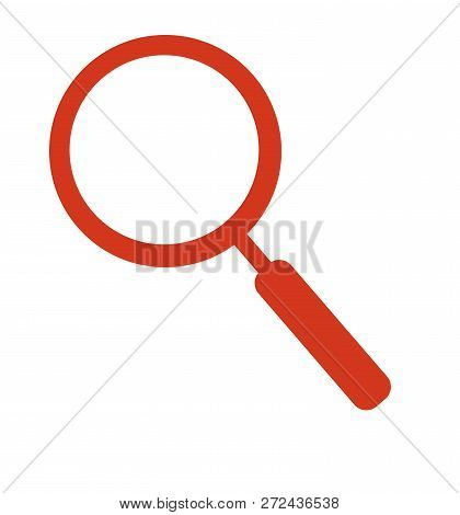 Magnifying Glass Icon Vector Search Icon Isolated On White Vector Magnifier Or Loupe Sign Eps 10