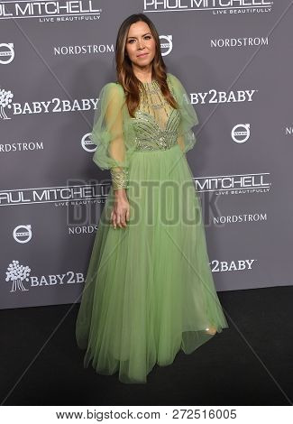 LOS ANGELES - NOV 10:  Monique Lhuillier arrives to the Baby2Baby Gala  on November 10, 2018 in Hollywood, CA