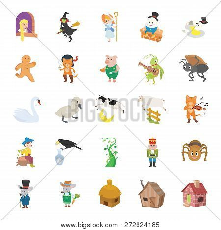 25 Fairy Tale Ii Color Vector Icons Collection