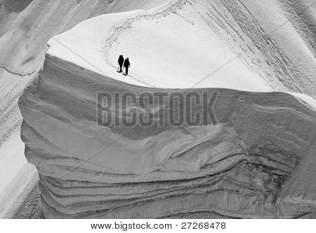 Rochefort Ridge, Mont Blanc