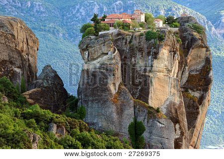 Meteora Monasteries in Greece