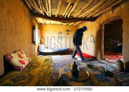 Beber room, Sahara Desert, Africa