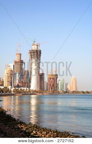 Building Boom In Doha, Qatar