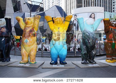 United Buddy Bears - First time in Southeast Asia