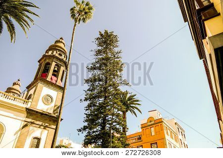 Photo Picture Image Of Old Colonial Buidings In La Laguna Tenerife Canary Islands