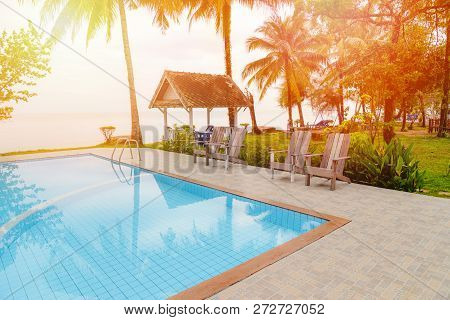 Swimming Pool Water Beach / Beautiful Swimming Pool Tiles Blue Color Modern Design