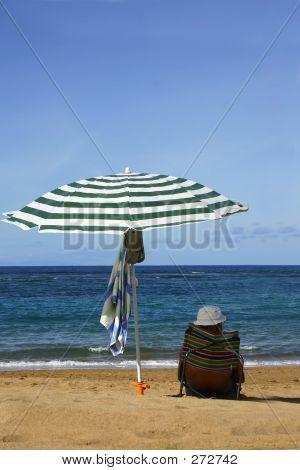 Beach Umbrella Senior