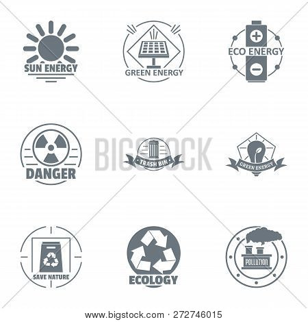Jeopardy Logo Set. Simple Set Of 9 Jeopardy Logo For Web Isolated On White Background