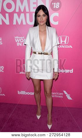 NEW YORK - DEC 6: Kacey Musgraves attends Billboard's 13th Annual Women in Music event on December 6, 2018 at Pier 36 in New York City.