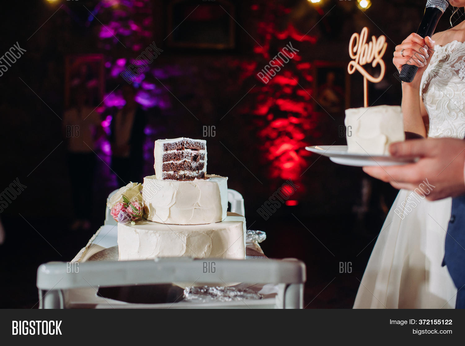 Bride Groom Cut Their Image Photo Free Trial Bigstock