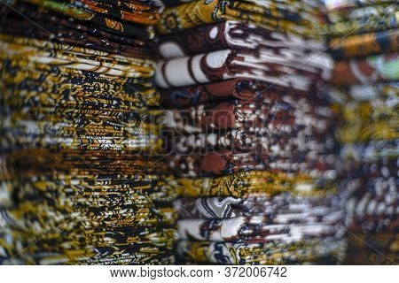Surakarta Indonesia June 26 2020 : Beautiful Motive Of Batik Indonesia Is A Traditional Culture From