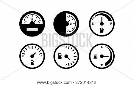 Set Fuel Icon Isolated On White Background From Motor Sports Collection. Set Fuel Icon Trendy And Mo
