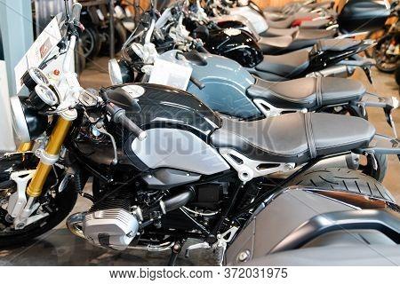 Bordeaux , Aquitaine / France - 02 15 2020 : Bmw Motorrad R Motorbike In Dealership Shop Second Hand