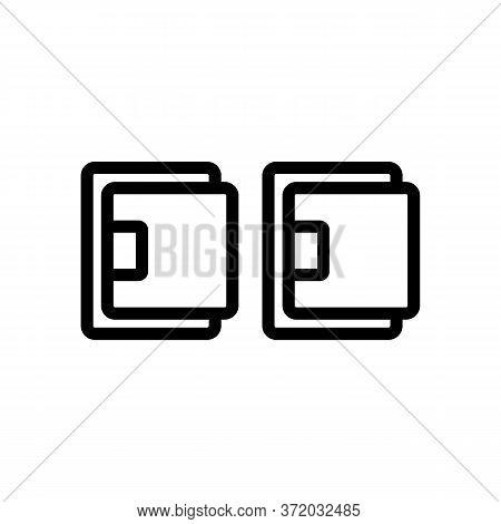 Cellulite Massager Set Icon Vector. Cellulite Massager Set Sign. Isolated Contour Symbol Illustratio