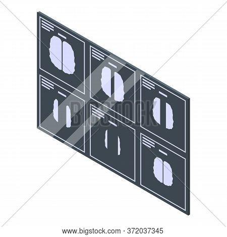 Magnetic Resonance Imaging Icon. Isometric Of Magnetic Resonance Imaging Vector Icon For Web Design