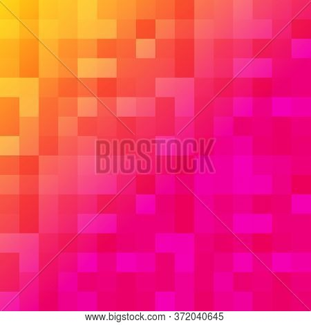 Colorful Smooth Gradient Color Background Wallpaper. Inspired By Instagram New Logo 2016. Vector Ill