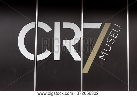 Funchal, Madeira, Portugal -  April 22, 2018: The Entry To The Museum Cr 7 In Funchal On Madeira. Po