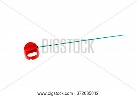 Insecticide Spray Nozzle Isolated On White Background.