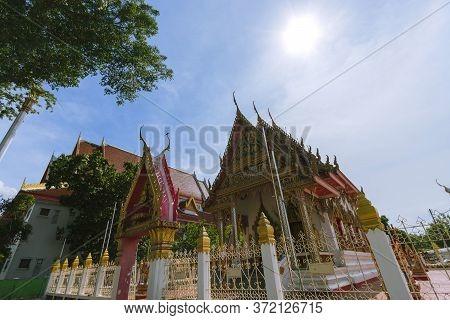 Wat Satue At Phra Nakhon Si Ayutthaya Province In Thailand