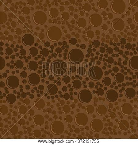 Milk Brown Chocolate Bar Seamless Pattern. Sweet Food Background.