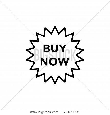 Buy Now Signage Icon Vector Illustration Template Design Trendy