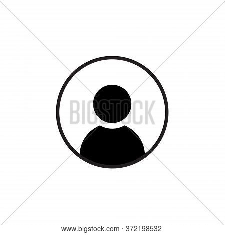 Default Avatar Profile Icon In Trendy Flat Style Isolated On White Background