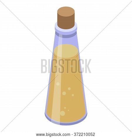 Original Olive Oil Icon. Isometric Of Original Olive Oil Vector Icon For Web Design Isolated On Whit