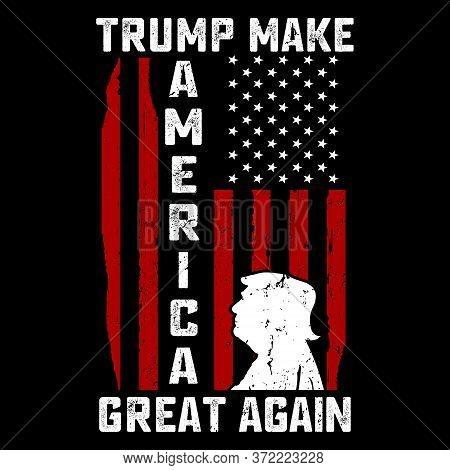 T Shirt Design,t-shirt Design, Vintage Trump Emblems.