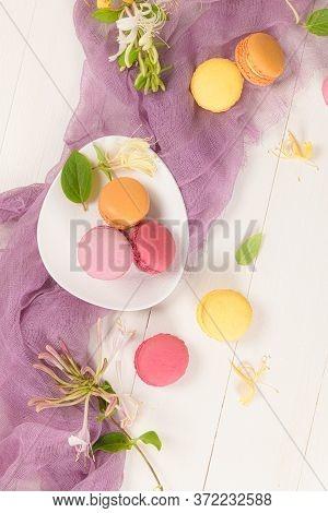 French Sweet Macarons
