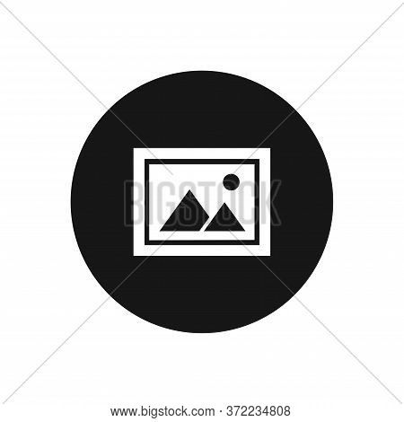 Landscape Icon Isolated On White Background. Landscape Icon In Trendy Design Style For Web Site And