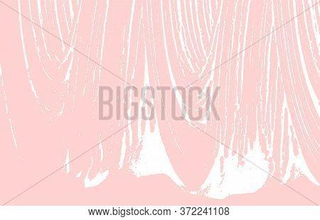 Grunge Texture. Distress Pink Rough Trace. Fresh Background. Noise Dirty Grunge Texture. Stylish Art