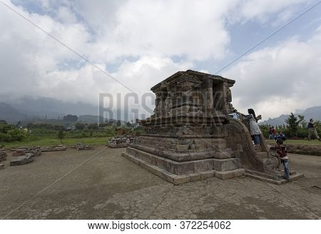 People Visiting Temple