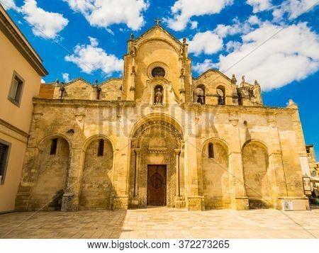 Church Of Saint John Baptist (italian: Chiesa Di San Giovanni Battista) In Matera, Italy