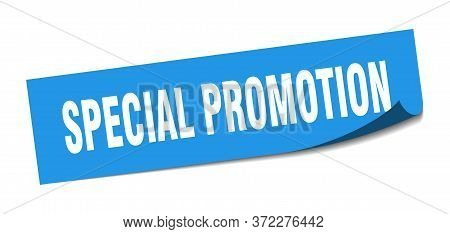 Special Promotion Sticker. Special Promotion Square Sign. Special Promotion. Peeler