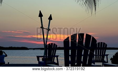 Wonderful Bay In The Florida Keys In The Evening - Key West, Florida - April 13, 2016