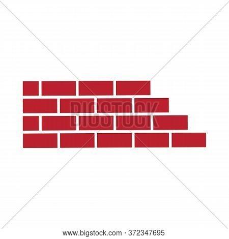 Brick Building Logo Design Vector, Brickwork Simple Modern Logo Template, Emblem, Design Concept, Cr