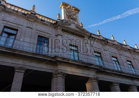 Palacio Municipal Building, Colonial Architecture In The City Of Aguascalientes, Aguascalientes Stat
