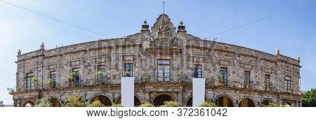The Municipal Government Palace In The Mexican City Of Guadalajara, State Of Jalisco