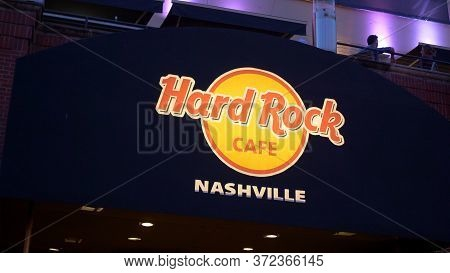 Hard Rock Cafe Nashville At Broadway - Nashville, Usa - June 17, 2019