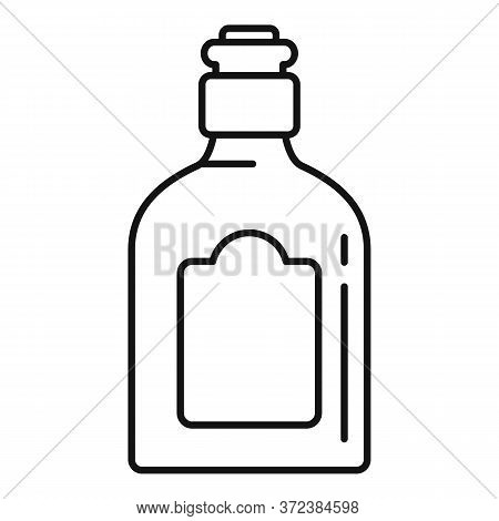 Mexican Drink Bottle Icon. Outline Mexican Drink Bottle Vector Icon For Web Design Isolated On White