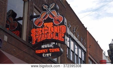 The Second Fiddle Bar In Nashville - Nashville, Usa - June 17, 2019
