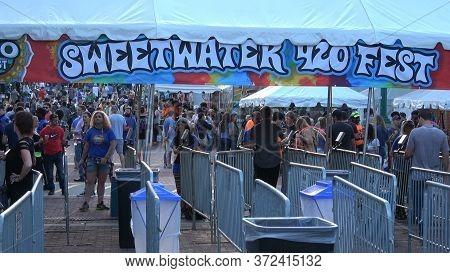 Main Entrance To Sweetwater Festival Atlanta - Atlanta, Georgia - April 22, 2016