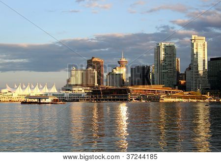 Vancouver Cityscape In Downtown