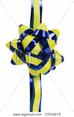 Ornament,  Yellow And Blue