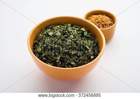 Feugreek Leaves Dried Or Kasuri Methi